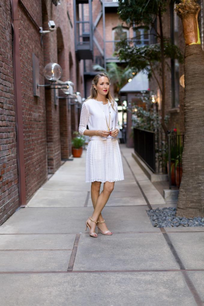职业女性时尚博客纽约街头风格的工作服