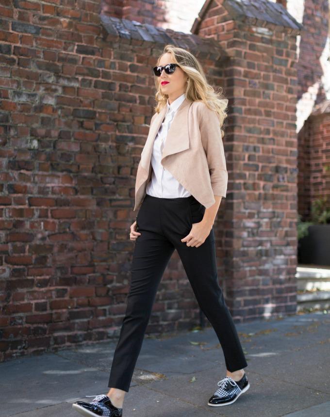 Black Oxford Shoes Fashion Style Guru Fashion Glitz Glamour Style Unplugged