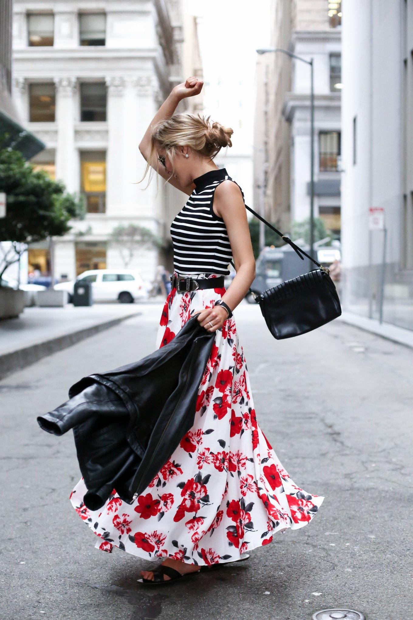 red-white-floral-nasty-gal-maxi-skirt-black-white-striped-sleeveless-turtleneck-cross-slide-sandals-mary-orton-memorandum-san-francisco-style-fashion-blog9-680x10202x