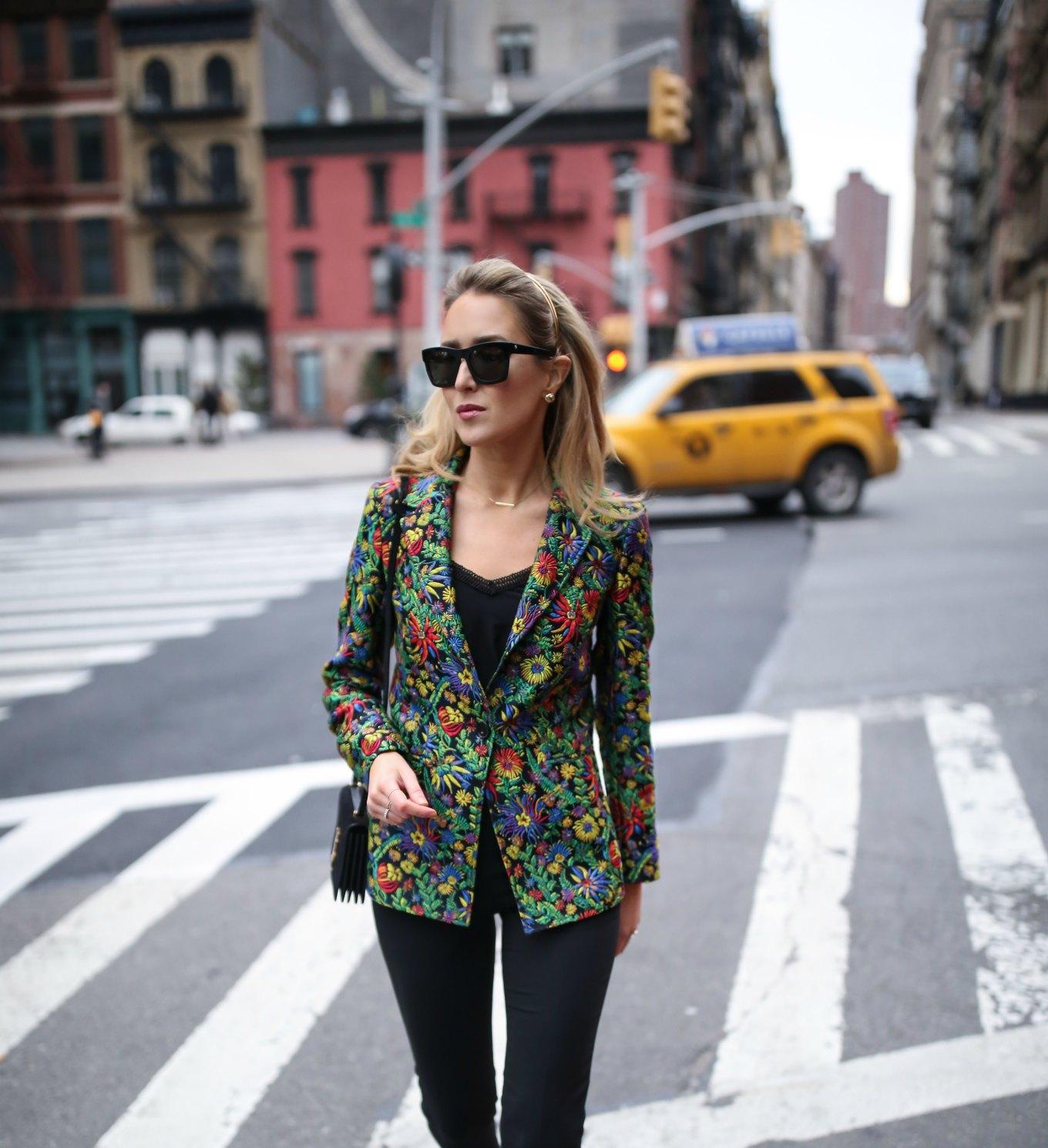 Phillip-lim-floral-jacquard-blazer-spring趋势 - 工作服 - 磨损办公室 - 经典 - 专业风格 - 博客4