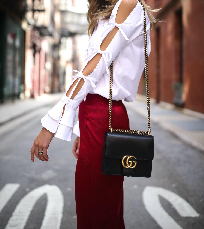 spring-summer-trends-statement-sleeves-split-ties-bell-red-satin-wide-leg-pants-alice-olivia-jonathan-simkhai-cat-eye-sunglasses12